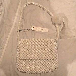 Loeffler Randall Bags - White beaded bag